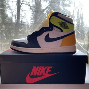 Nike Air Michael Jordan 1 Volt Gold Sz 10 for Sale in Philadelphia, PA