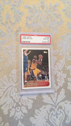 Kobe Bryant 1996 Topps rookie card for Sale in Aliso Viejo, CA