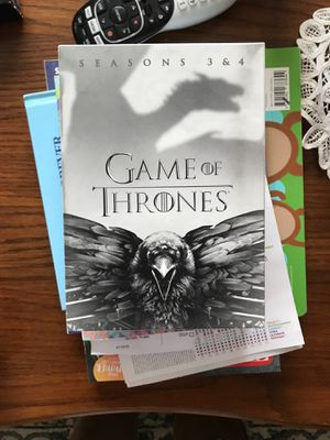 Game of thrones season 1, 2, 3 4 for Sale in Appleton, WI
