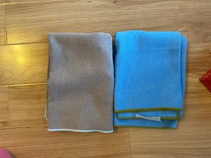 Yoga mat towels a set of 2 - like new condition for Sale in New York, NY