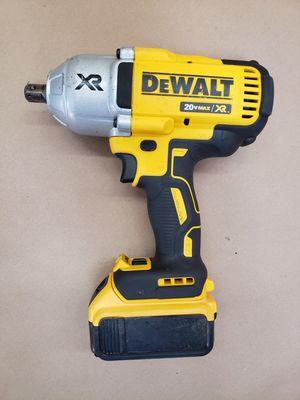 Dewalt 20v 1/2in Impact Wrench W/5ah Battery for Sale in Powdersville, SC
