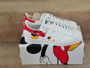 Size 11 Men Adidas Stan Smith Mickey Mouse for Sale in Adelphi, MD