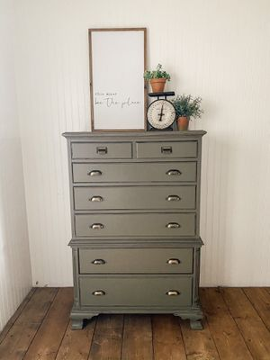 Army Green Tallboy for Sale in Mount Vernon, WA