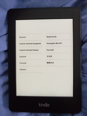 Amazon Kindle Paperwhite 5th Generation DP75SDI WiFi eBook Reader With case for Sale in Kensington, MD