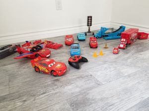 Disney Cars lot of toys for Sale in Fontana, CA
