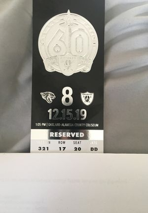 Raider game for Sale in Hayward, CA