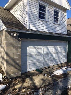 Garage door with door opener and keyless entry for Sale in Union City, PA