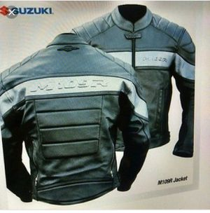SUZUKI BOULEVARD Leather Motorcycle Jacket Limited Edition M109R for Sale in Hialeah, FL