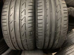 Tires 255-40r18 Bridgestone for Sale in Anaheim, CA
