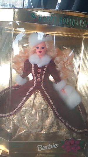 Happy holidays special edition 1996 barbie mint for Sale in Denver, CO