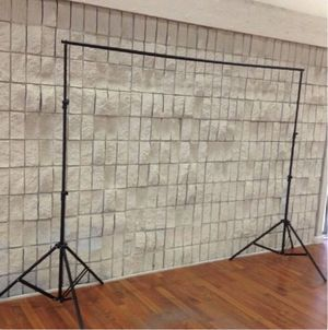New in box 7 feet tall expand up to 10 feet wide back drop photography backdrop stand for Sale in Covina, CA