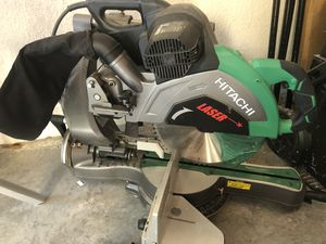 "New 12"" Dual bevel compound sliding miter saw with laser for Sale in Kissimmee, FL"