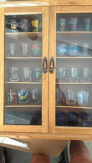 300 + shot glass collection from all over the world for Sale in Lake Elsinore, CA