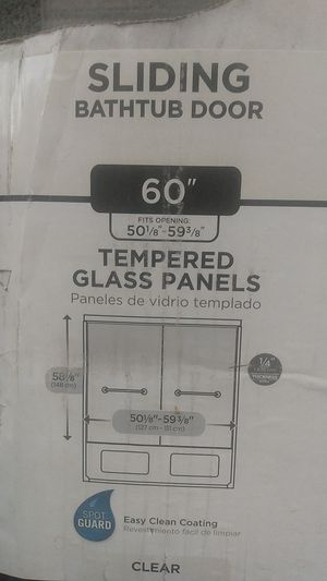 New sliding bathtub door for Sale in Phoenix, AZ