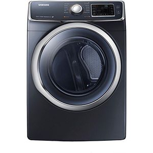 Dryer - Samsung - 7.5 cu. ft. Capacity Electric Front Load - Onyx - DV45H6300EG - New for Sale in Miami, FL