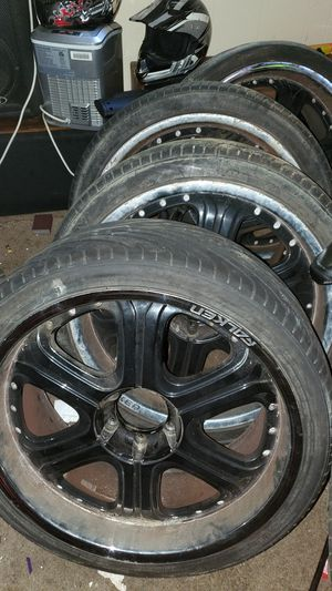 "4 Falcon tire with rims 22"" for Sale in Wilmington, DE"