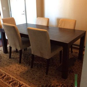 Wood table set for Sale in San Diego, CA