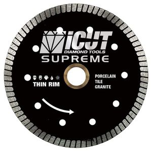 4.5-Inch Thin Rim Turbo Diamond Blade – Professional Grade – Reinforced on both Sides For Cutting Granite, Ceramic, Marble, for Sale in Pompano Beach, FL