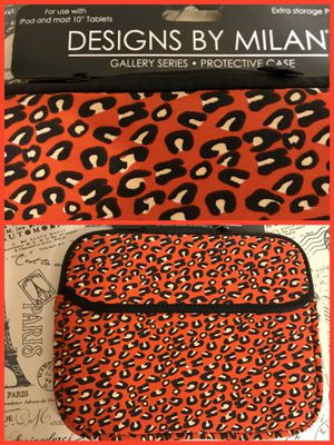 """Protective case for iPad and most 10"""" tablet for Sale in Visalia, CA"""
