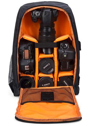 Camera Backpack Waterproof for DSLR/SLR Cameras (Canon, Nikon, Sony and etc), Laptops, Tripods, Flashes, Lenses and Accessories for Sale in Chino, CA