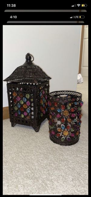 Pier One Imports lantern/candle holder for Sale in Mentor, OH