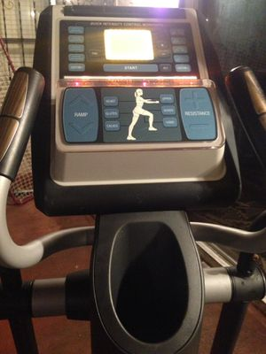 NordicTrack Commercial 1300 Power Ramp Elliptical Works Great Has Power Cord Moving Need Gone ASAP $140 for Sale in Hawthorne, CA