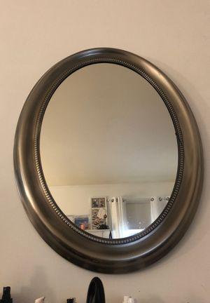 Round Silver Mirror for Sale in Fairfax, VA