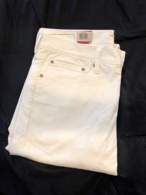 Levi White Slim Fit Men's Jeans for Sale in Boston, MA