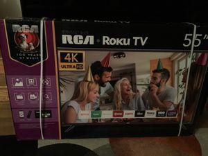 """Brand New RCA 55"""" 4K Ultra HD Roku TV for Sale in Arlington, VA"""