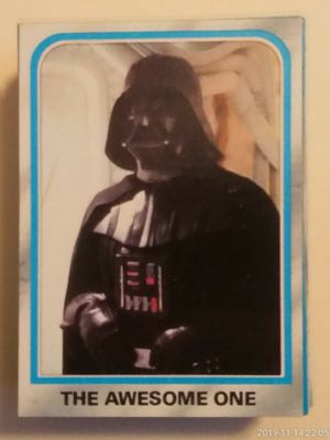 (63) VINTAGE COLLECTIBLE 1980 TOPPS STAR WARS THE EMPIRE STRIKES BACK TRADING CARDS & STICKERS. for Sale in El Mirage, AZ
