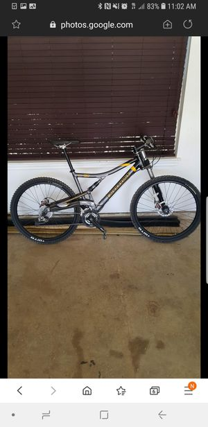 Cannondale lefty mountain bike for Sale in Dallas, TX
