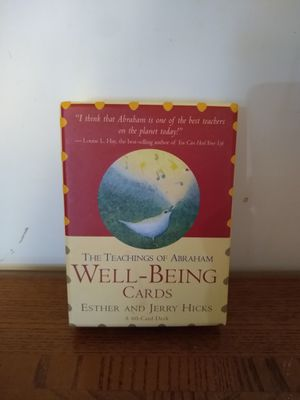 Abraham Hicks Well-Being cards for Sale in Houston, TX