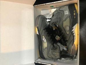Off white Jordan 5s for Sale in Fairburn, GA