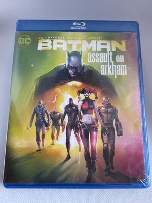Batman Assault on Arkham Blu Ray NEW Sealed for Sale in Los Angeles, CA