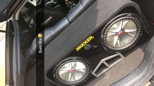 2 12's kickers subs for Sale in Johnston, RI