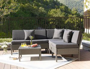 Outdoor patio front/back yard furniture set sofa and table for Sale in Los Angeles, CA