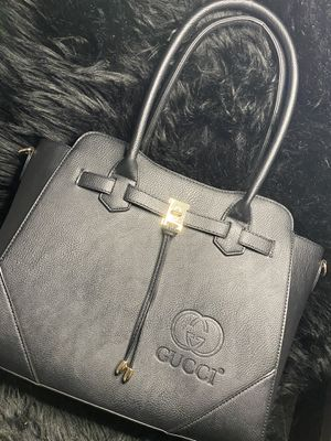 Tote bag black leather Gucci for Sale in Los Angeles, CA