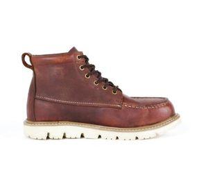 DEWALT Canton Men's Size 10(M) Brown Leather Soft Toe 6 in. Moc-Toe Work Boot for Sale in Virginia Gardens, FL