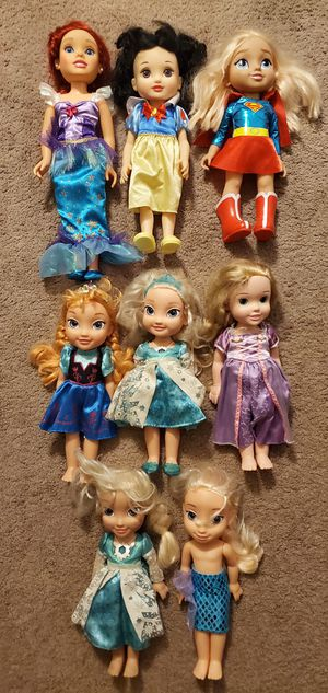 TOYS DISNEY DOLLS ALL FOR $20 FIRM for Sale in San Diego, CA