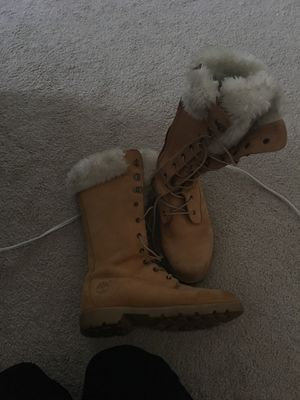 Woman Timberlands boots for Sale in Powhatan, VA