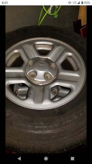 2010 Jeep Wrangler wheels and tires for Sale in Reading, PA