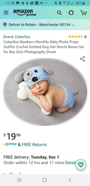 Newborn Photography Outfits Props for Sale in Westchester, IL