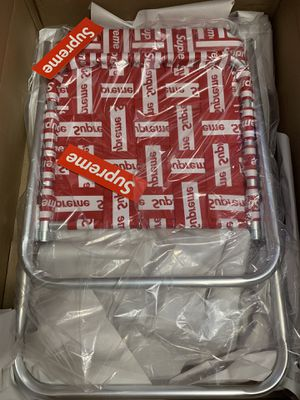 Supreme Lawn Chair Red for Sale in Brooklyn, NY