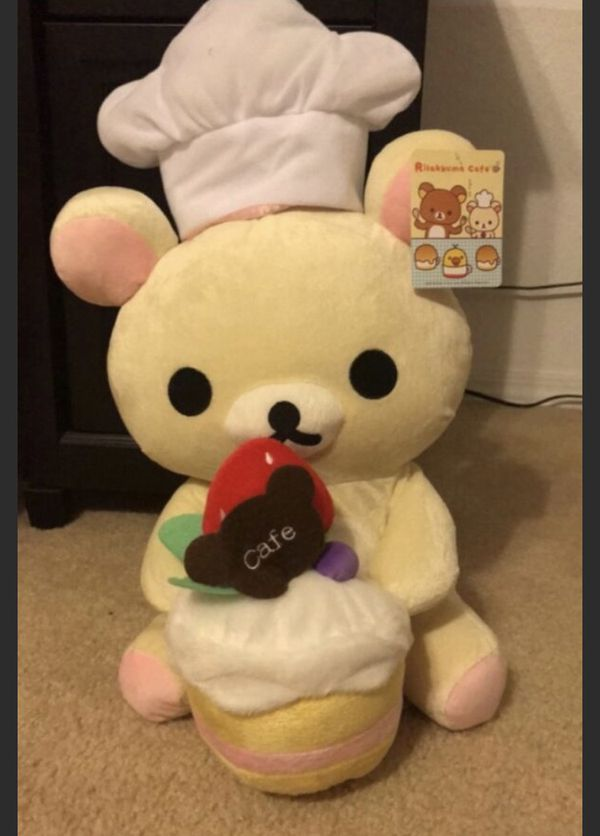 Baking Bear Chef Plush