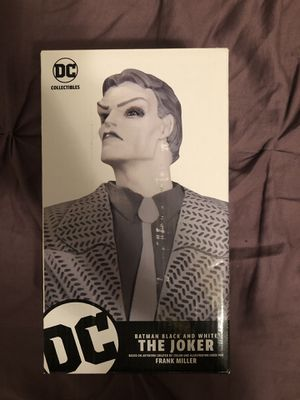 DC Collectibles Batman Black And White Frank Miller Joker Statue for Sale in Alta Loma, CA