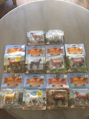 Vintage 1987 Funrise Collectors Toy Horse Collection SEALED IN ORIGINAL PACKAGING for Sale in Bakersfield, CA