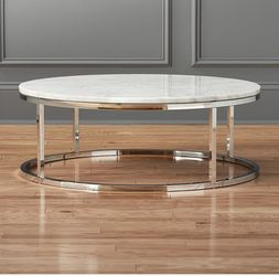 CB2 Marble Coffee Table for Sale in Los Angeles,  CA
