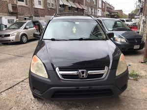 2004 HONDA CRV EX 4X4 SUN Roof ,runs like new 168 miles for Sale in Philadelphia, PA