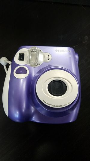 Polaroid PIC-300P Instant Film Analog Camera (purple) with 9 rolls of film for Sale in San Diego, CA