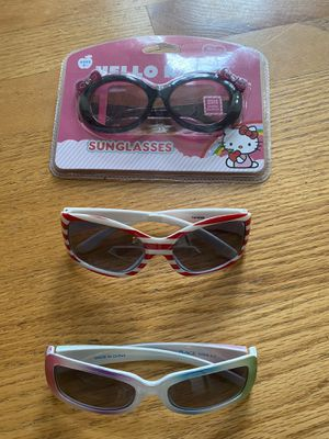 3 pairs of little girl sunglasses for Sale in Vancouver, WA